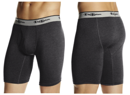 Champion Mens Tech Performance Long Leg Boxer Brief